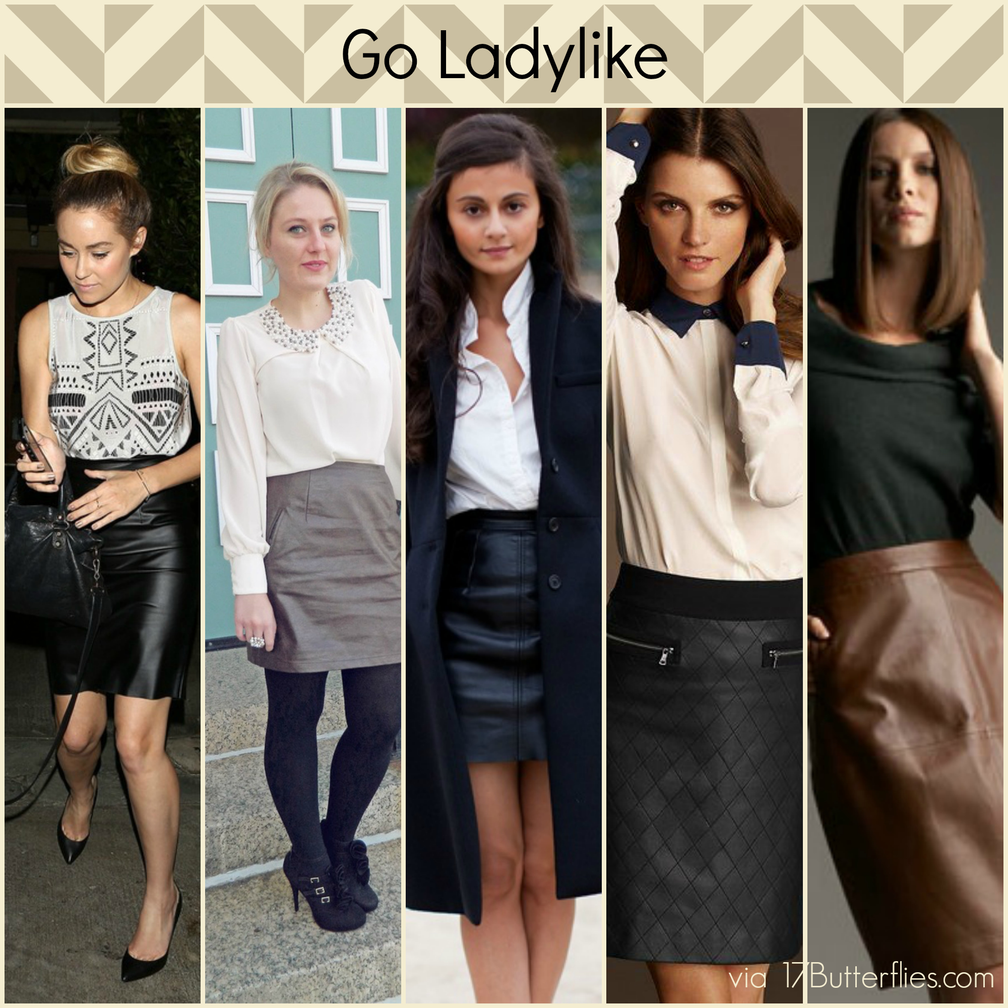 So, you DIY'd a leather skirt. Now what? – 17Butterflies
